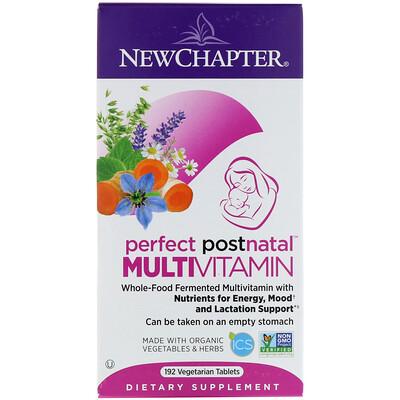 Мультивитамины Perfect Postnatal, 192 вегетарианские таблетки
