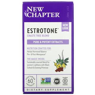 New Chapter, Estrotone, 60 Vegetarian Capsules