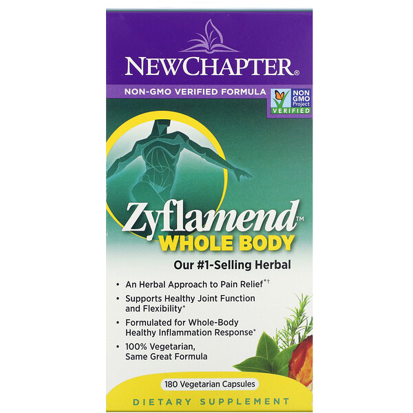 Zyflamend Whole Body, 180 Vegetarian Capsules
