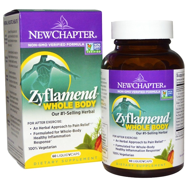 Zyflamend Whole Body, 60 Vegetarian Capsules