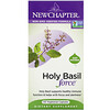 New Chapter, Holy Basil Force, 120 Vegetarian Capsules