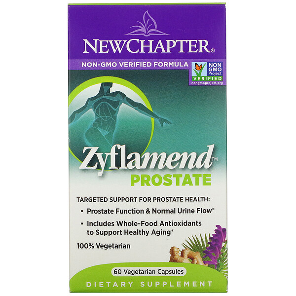 New Chapter, Zyflamend Prostate, 60 Vegetarian Capsules