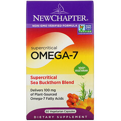New Chapter, 超臨界 Omega-7,60 粒素食膠囊