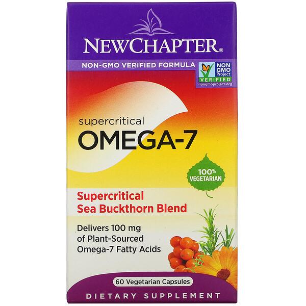 Supercritical Omega-7, 60 Vegetarian Capsules