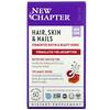 New Chapter, Hair, Skin & Nails, 60 Vegan Capsules