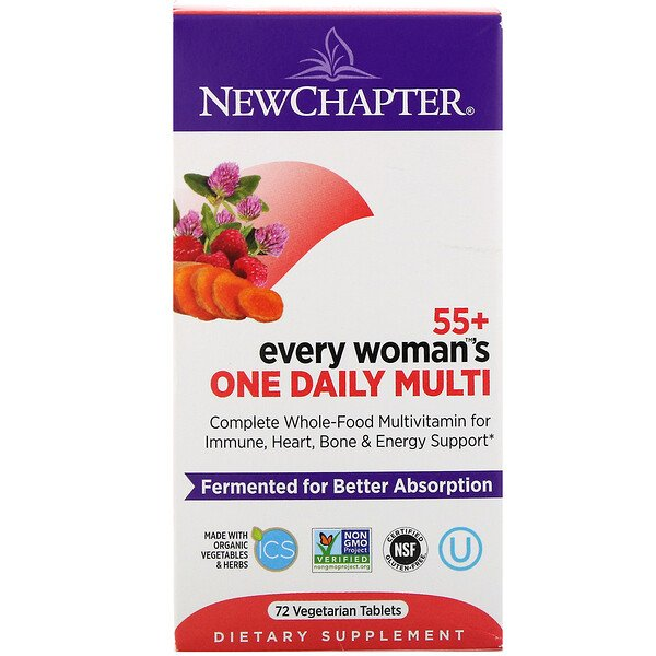 55+ Every Woman's One Daily Multi, 72 Vegetarian Tablets