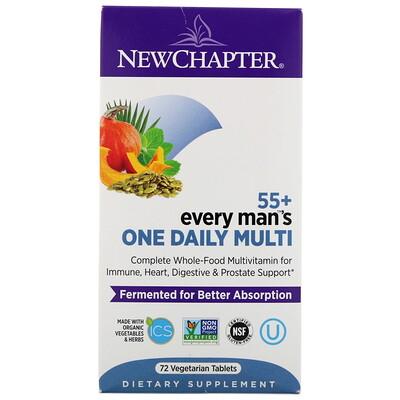 Купить Every Man's One Daily Multi, мультивитамины для мужчин старше 55лет, 72вегетарианские таблетки
