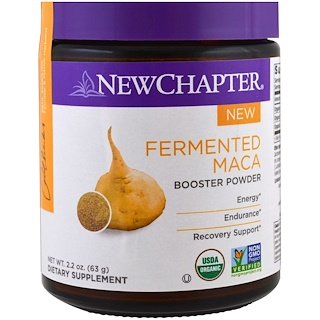 New Chapter, Fermented Maca Booster Powder , 2.2 oz (63 g)