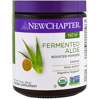 New Chapter, Fermented Aloe Booster Powder, 1.9 oz (54 g)