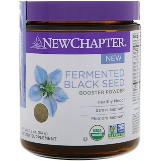 New Chapter, Fermented Black Seed Booster Powder, 1.9 oz (54 g)