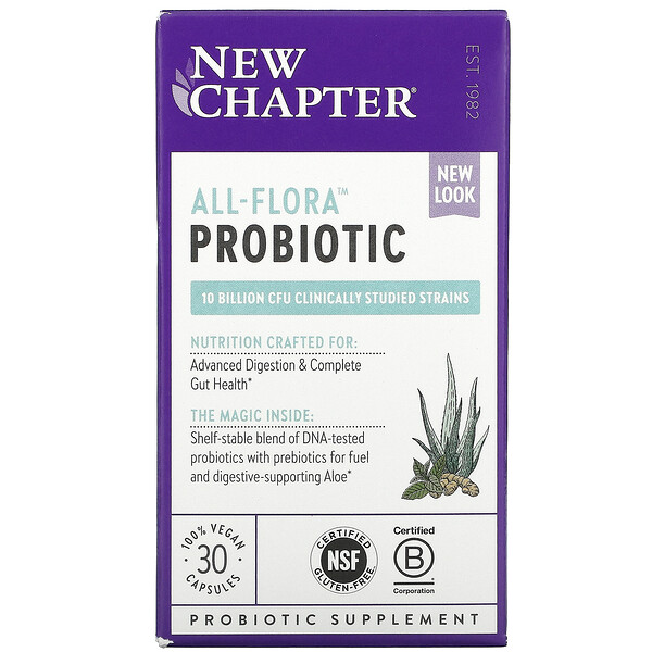 Probiotic All-Flora, 30 Vegan Capsules