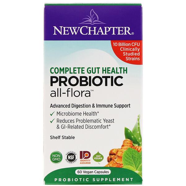 Probiotic All-Flora, 60 Vegan Capsules