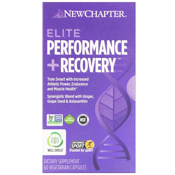 Elite Performance + Recovery, 60 Vegetarian Capsules