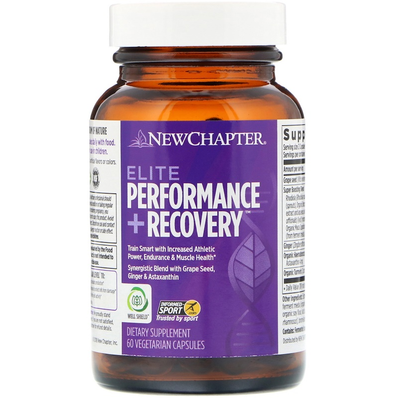 New Chapter, Elite Performance + Recovery, 60 Vegetarian Capsules - photo 2