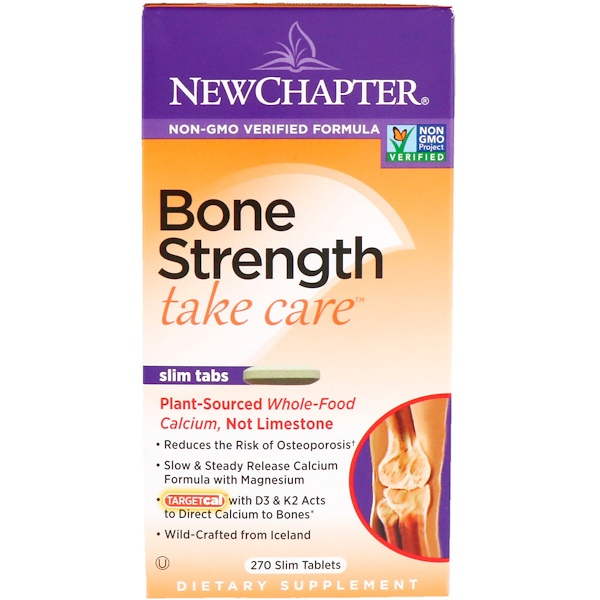New Chapter, Bone Strength Take Care, 270 Slim Tablets