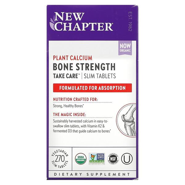 New Chapter, Bone Strength Take Care, 270 Vegetarian Slim Tablets