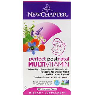 New Chapter, 出産後向けパーフェクトマルチビタミン、タブレット270錠