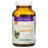 New Chapter, Fermented Vitamin C, 250 mg, 60 Vegan Tablets