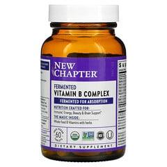 New Chapter, 發酵維生素 B 複合物,60 片純素食片