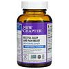 New Chapter, Restful Sleep and Pain Relief, Melatonin & Ginger, 30 Vegetarian Capsules