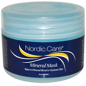 Nordic Care, Минеральная маска, 8 унций (240 мл) инструкция, применение, состав, противопоказания