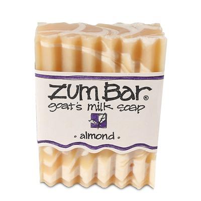 Купить Zum Bar, мыло с козьим молоком, миндаль, кусок весом 3 унции