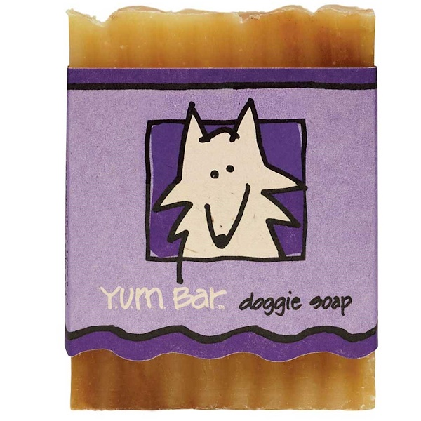 Indigo Wild, Y.U.M. Bar Doggie Soap, 3 oz (Discontinued Item)