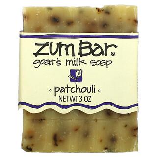 ZUM, Zum Bar, Goat's Milk Soap, Patchouli, 3 oz