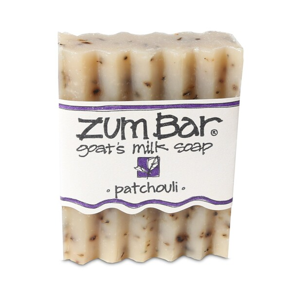Indigo Wild, Zum Bar, Goat's Milk Soap, Patchouli, 3 oz  Bar (Discontinued Item)