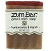 Indigo Wild, Zum Bar, Jabón de leche de cabra, con Incienso & Mirra, 3 oz  Bar
