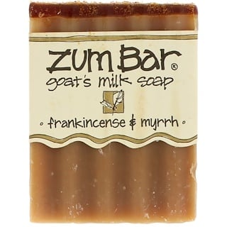 Indigo Wild, Zum Bar, Goat's Milk Soap, Frankincense & Myrrh, 3 oz  Bar