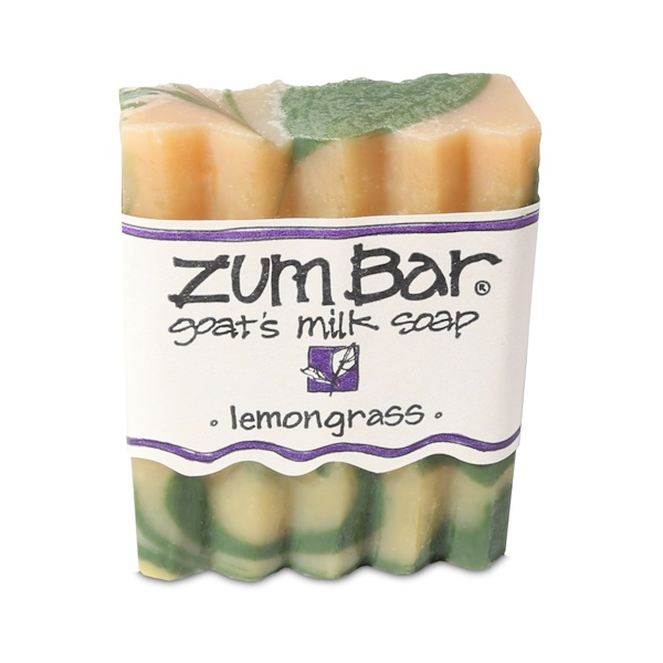 Indigo Wild, Zum Bar, Goat's Milk Soap, Lemongrass, 3 oz Handmade Bar