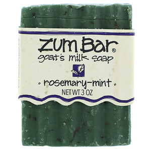 Индиго вилд, Zum Bar, Goat's Milk Soap, Rosemary-Mint, 3 oz Bar отзывы покупателей