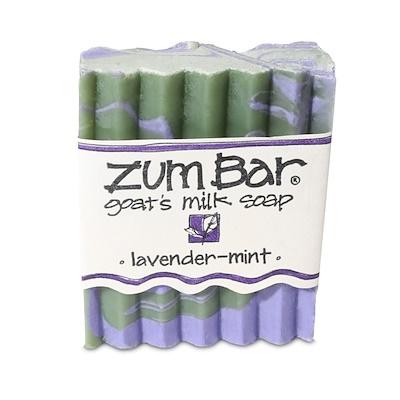 Купить Zum Bar, мыло из козьего молока, лаванда-мята, кусок весом 3 унции