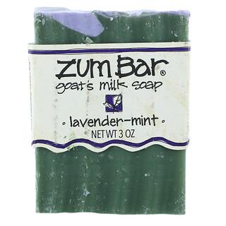 ZUM, Zum Bar, Goat's Milk Soap, Lavender-Mint, 3 oz Bar