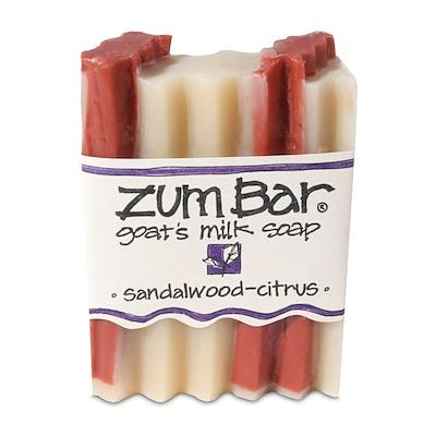 Купить Zum Bar, Мыло с козьим молоком, Сандаловое дерево и цитрус, 3 унции