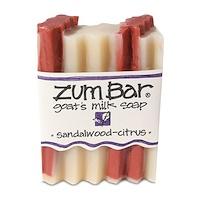 Indigo Wild, Zum Bar, Goat's Milk Soap, Sandalwood-Citrus, 3 oz Bar