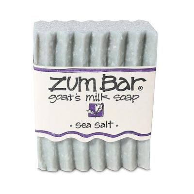 Zum Bar, Мыло с козьим молоком, Морская соль, 3 унции  - купить со скидкой
