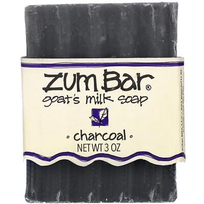 Indigo Wild Zum Bar, Goat's Milk Soap, Charcoal, 3 oz