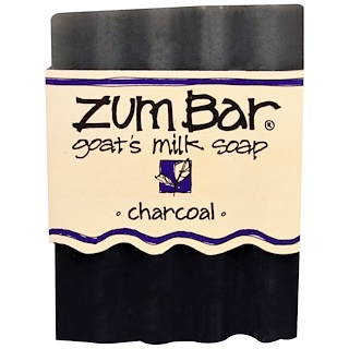 Indigo Wild, Zum Bar, Goat's Milk Soap, Charcoal, 1 Bar, 3 oz