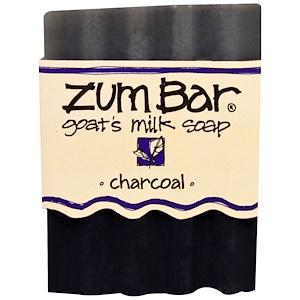 Indigo Wild, Zum Bar, Goat's Milk Soap, Charcoal, 3 oz Bar