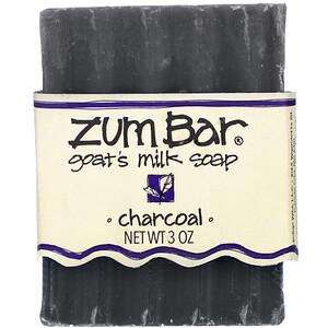 Индиго вилд, Zum Bar, Goat's Milk Soap, Charcoal, 3 oz отзывы