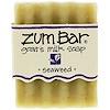 Indigo Wild, Zum Bar, Goat's Milk Soap, Seaweed, 3 oz