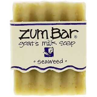 Indigo Wild, ズムバー、ヤギ乳石鹸、海藻、3 oz