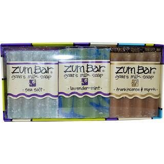 Indigo Wild, Zum Bar, Goat's Milk Soaps Gift Pack, 3 Bars, 3 oz Each