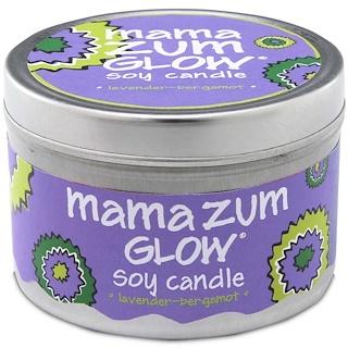 Indigo Wild, Mama Zum, Soy Candle, Lavender-Bergamot, 7 oz