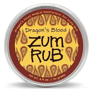 Indigo Wild, Zum Rub, Dragon's Blood, 2.5 oz (70 g)