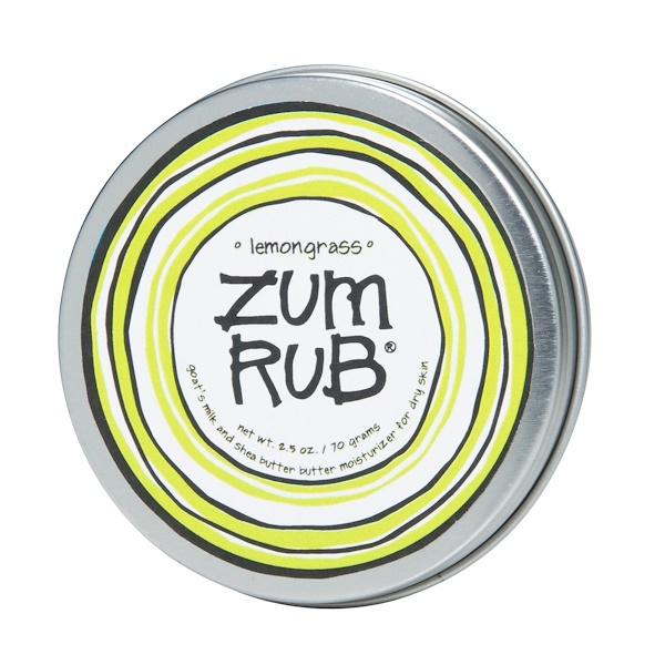 Indigo Wild, Zum Rub, Lemongrass, 2.5 oz (70 g) (Discontinued Item)