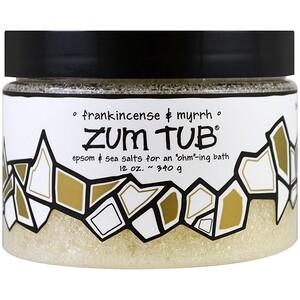 Индиго вилд, Zum Tub, Epsom & Sea Salts, Frankincense & Myrrh, 12 oz (340 g) отзывы покупателей