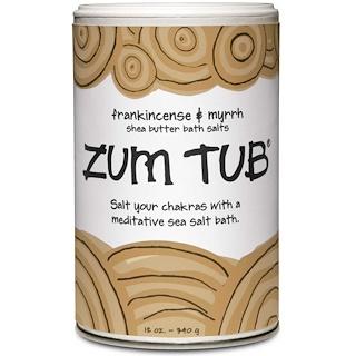 Indigo Wild, Zum Tub, Shea Butter Bath Salts, Frankincense & Myrrh, 12 oz (340 g)